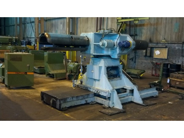 LITTELL Motorized Double End Coil Reel Uncoiler 20,000 Lbs.