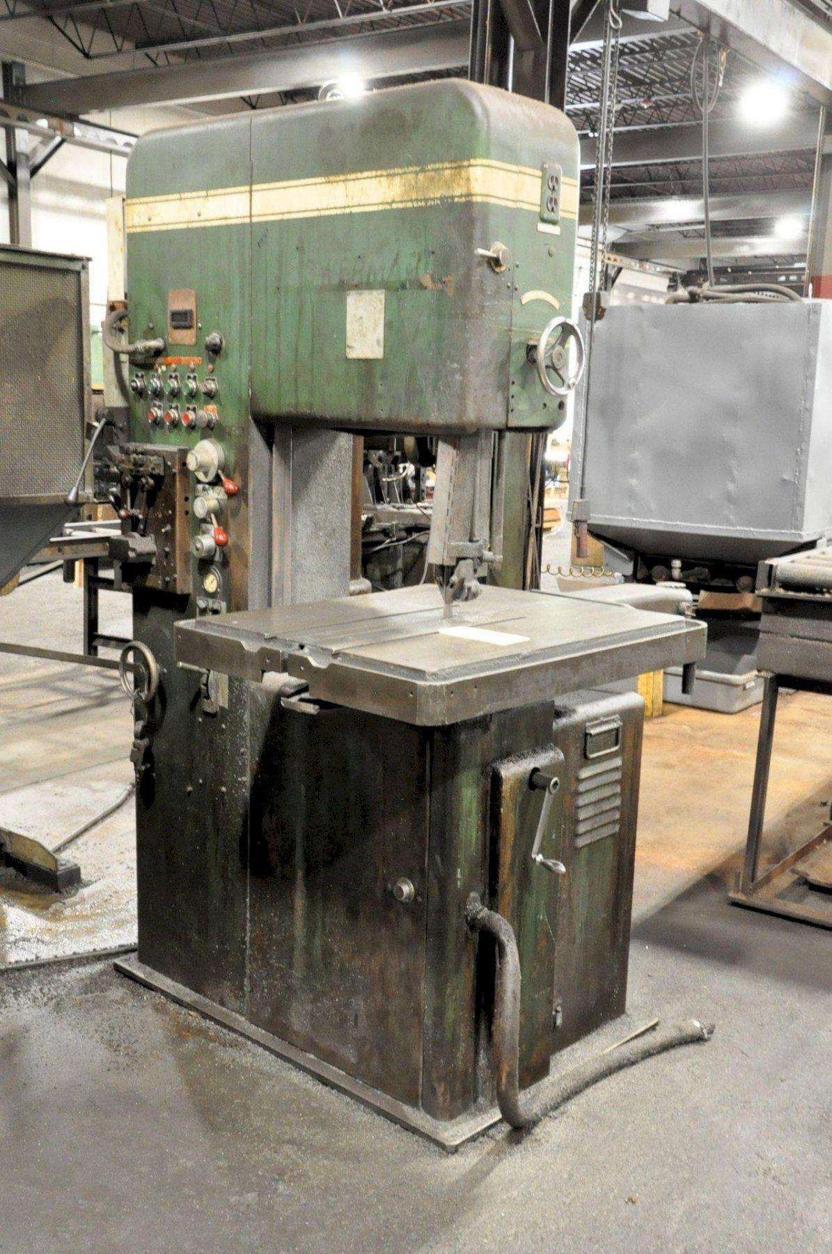 20' POWERMATIC VERTICAL BANDSAW: STOCK #73435