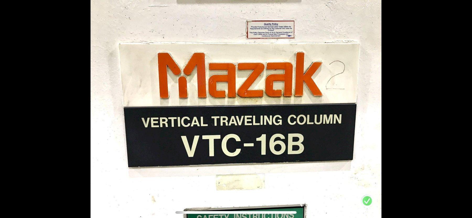 Mazak VTC 16B