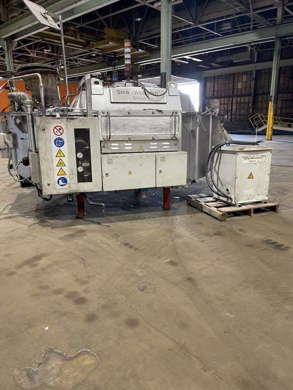 Striko  W 1200 SL VPC 1200 kg capacity Aluminum Dosing Furnace S/N 12704