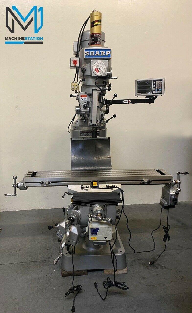 NEW SHARP LMV-50 MILLING MACHINE