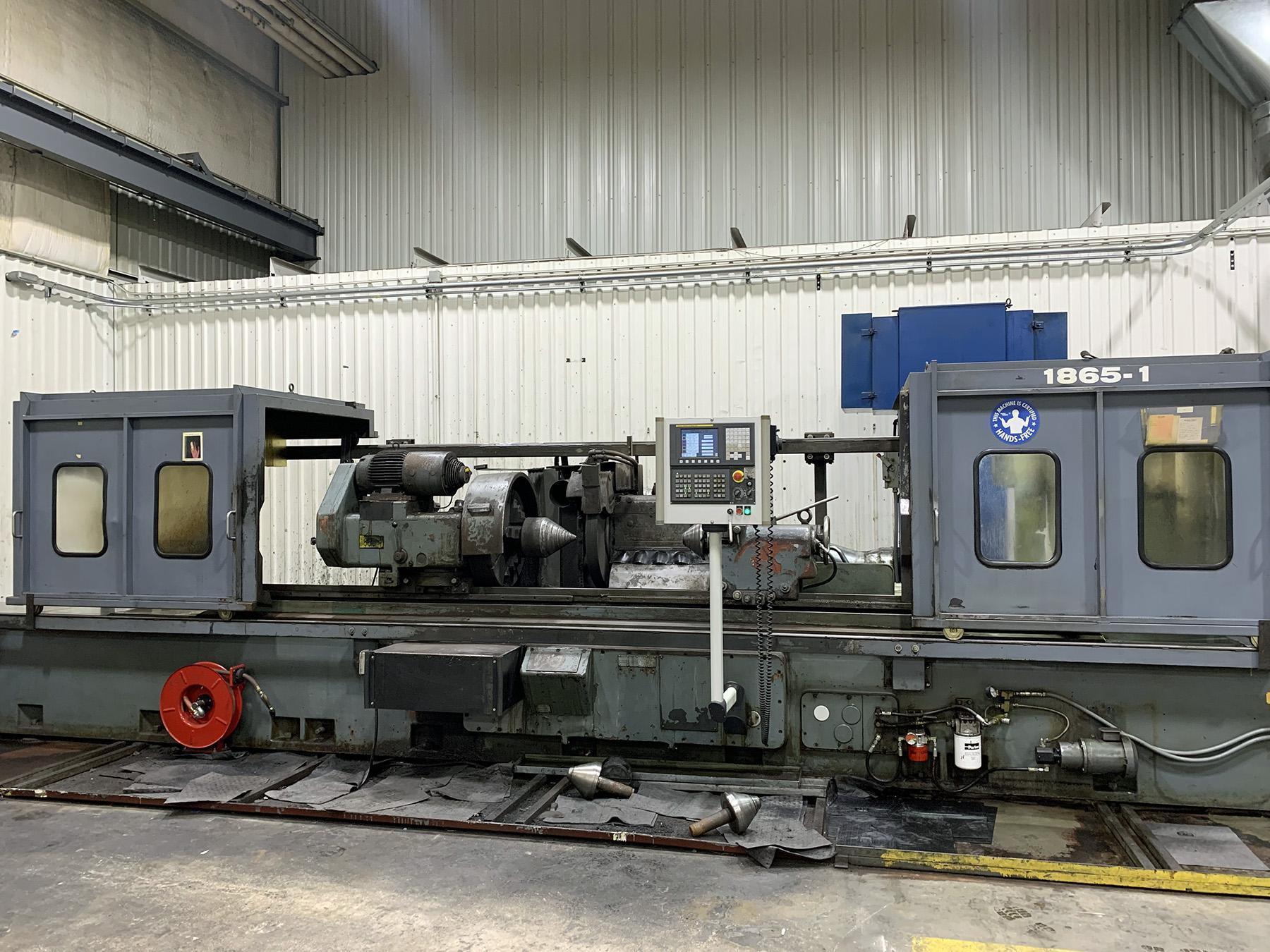 """USED, 24"""" X 120"""" TOS-HOSTIVAR MODEL BUT 63/3000 CNC CYLINDRICAL GRINDER"""