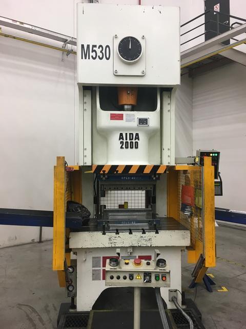 220 Ton Aida Gap Press (2 Available)