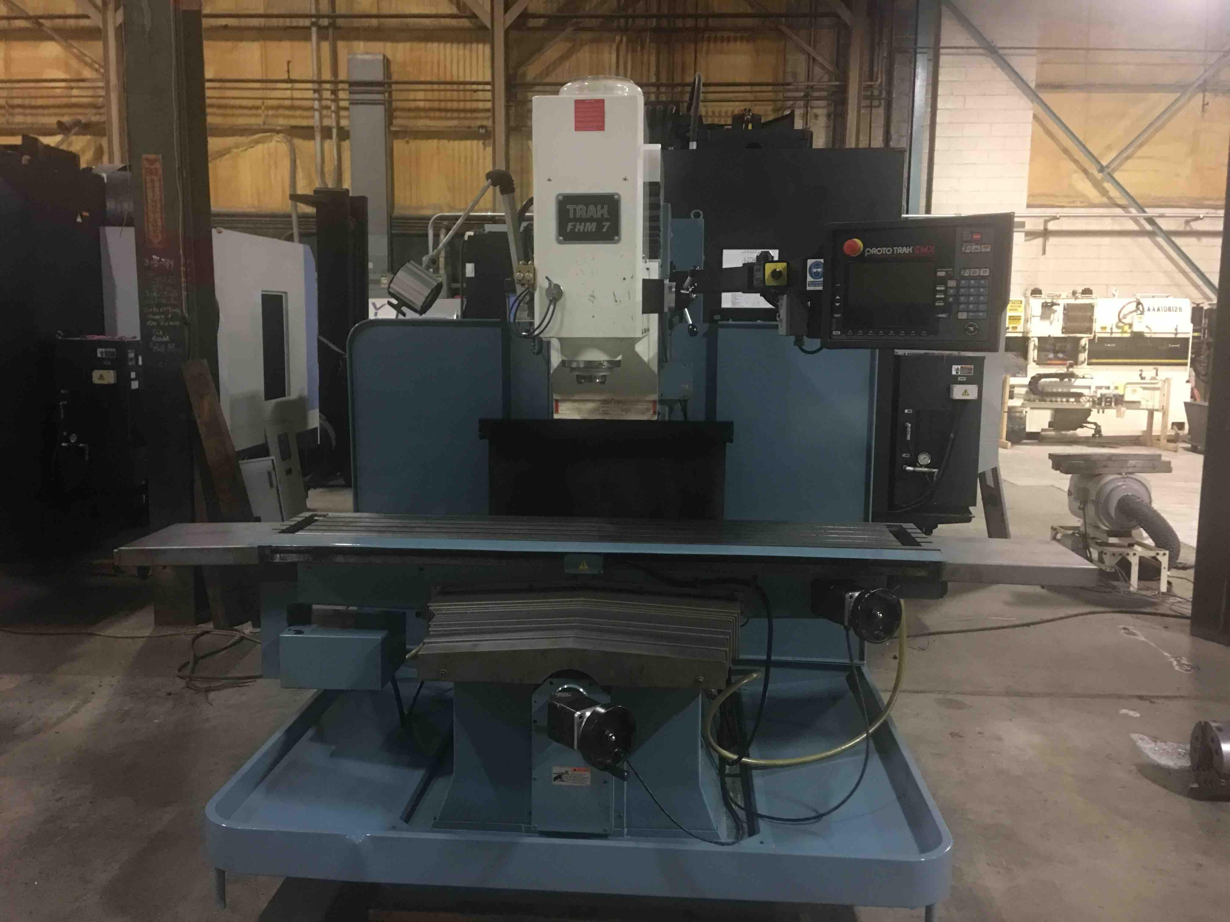 Southwestern Industries FHM7 CNC Bed Mill, SMX Control, 60