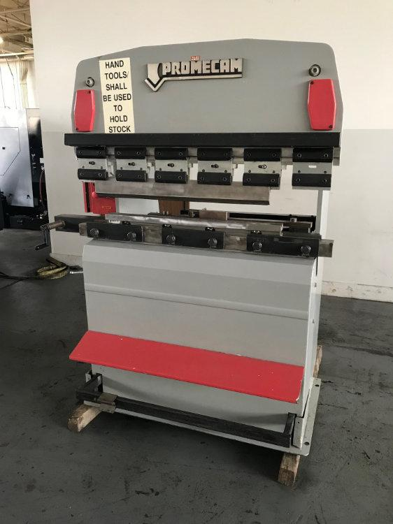 Used PROMECAM UPACTING HYDRAULIC PRESS BRAKE, Model RG25-12, 4' x 30 Tons, Stock No. 10498
