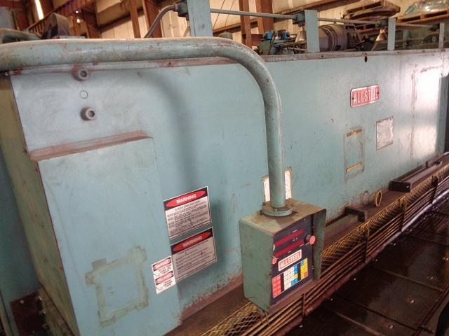 "1/2"" x 12 ft Allsteel Hydraulic Power Shear Model 1/2- 12"