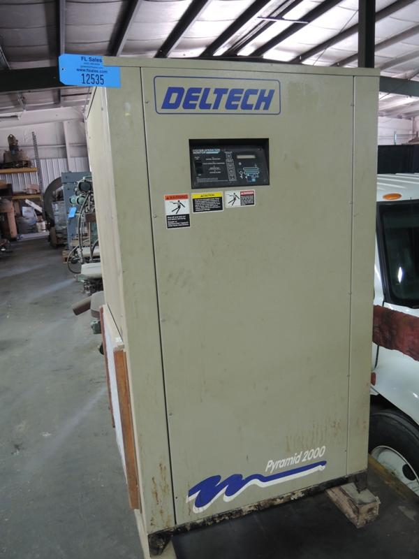 1995 DELTECH MODEL P55A REFRIGERATED AIR DRYER S/N 951PA9015