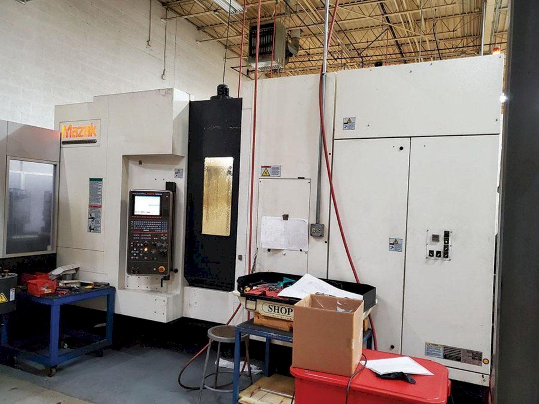 Mazak HCN-5000 II CNC Horizontal Machining Center