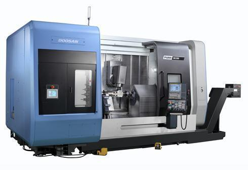 "Doosan Puma SMX3100S 7-Axis CNC Lathe, Fanuc 31i, 12""/10"" Chucks, 60.6"" Centers, 4"" Bar Capacity, Live Milling, 80 Position ATC, Y-Axis, C-Axis, 2015 (2) Available"