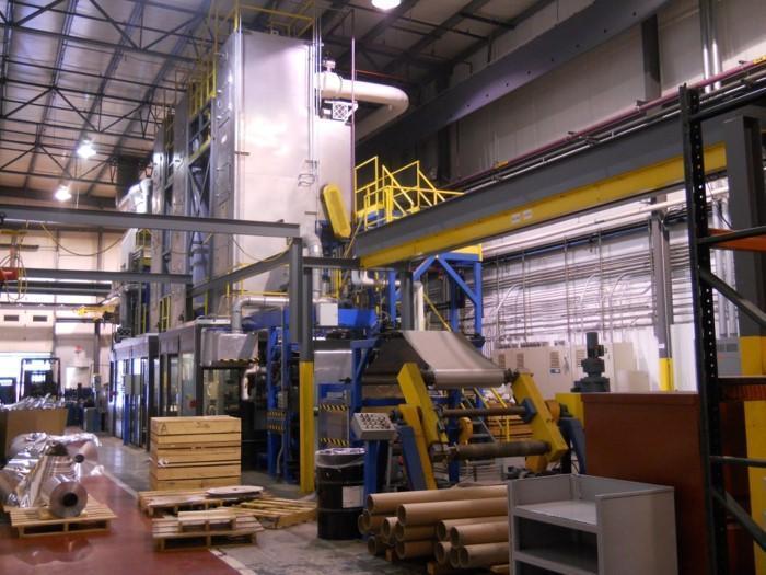 "36"" x .0009"" VAI Aluminum Foil Coating Line (2005)"