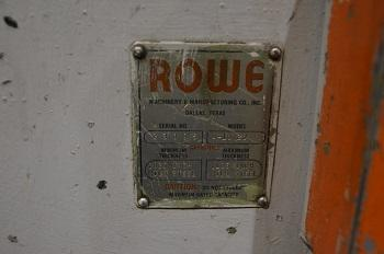 ROWE A-10 STRAIGHTENER   Our stock number: 114091