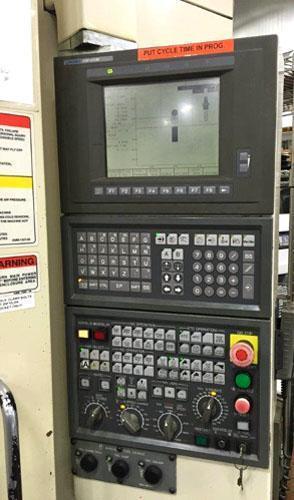 """OKUMA MC-V4020 4-Axis, OSP U10M CNC, Tsudakoma 4th Axis CNC Table, X=40"""", Y=20"""", Z=17"""", CAT 40, 15,000 RPM, Thru Spindle Coolant, New 2002."""
