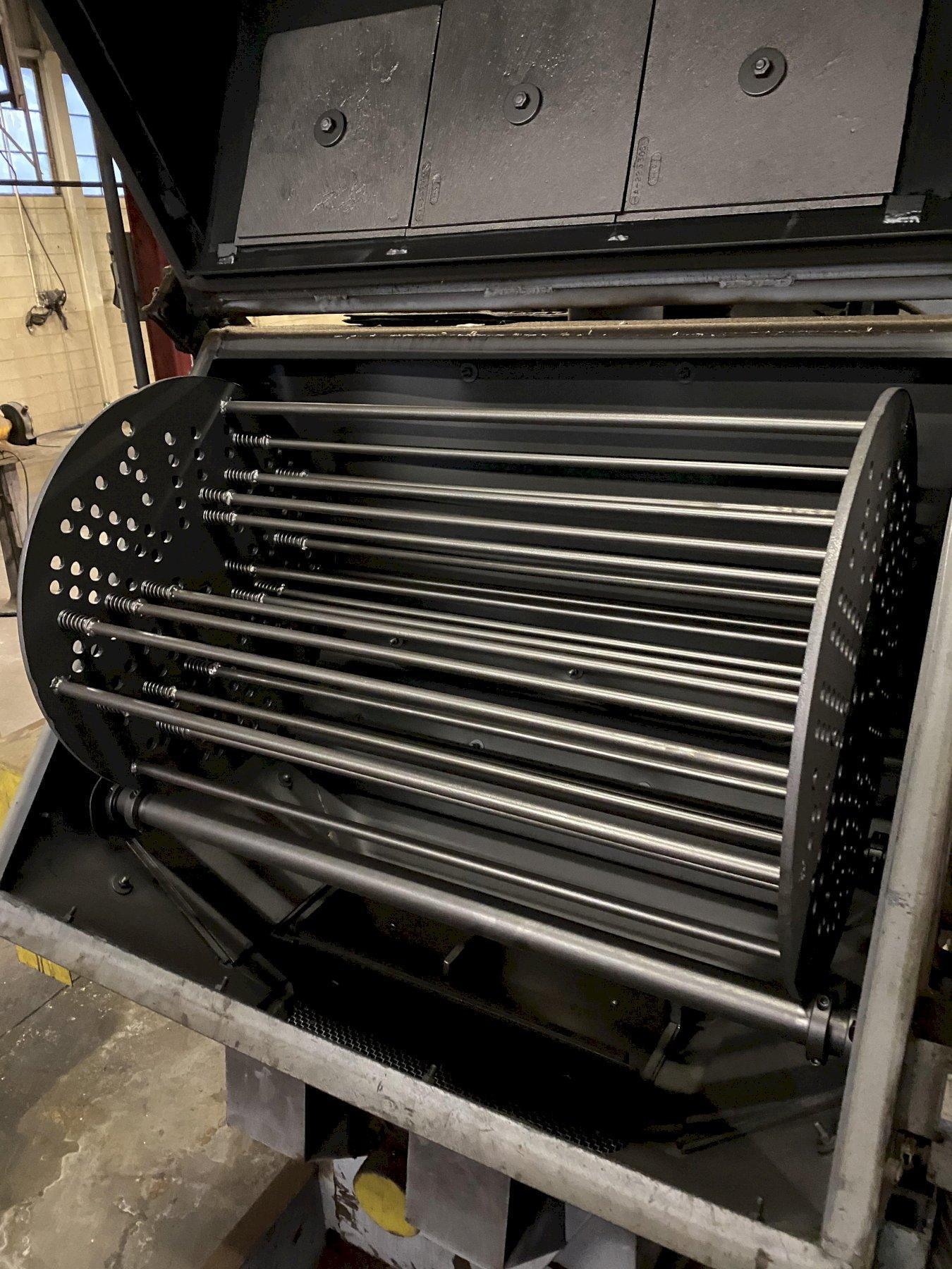 LS Industries Tumble Type Shot Blast Machine
