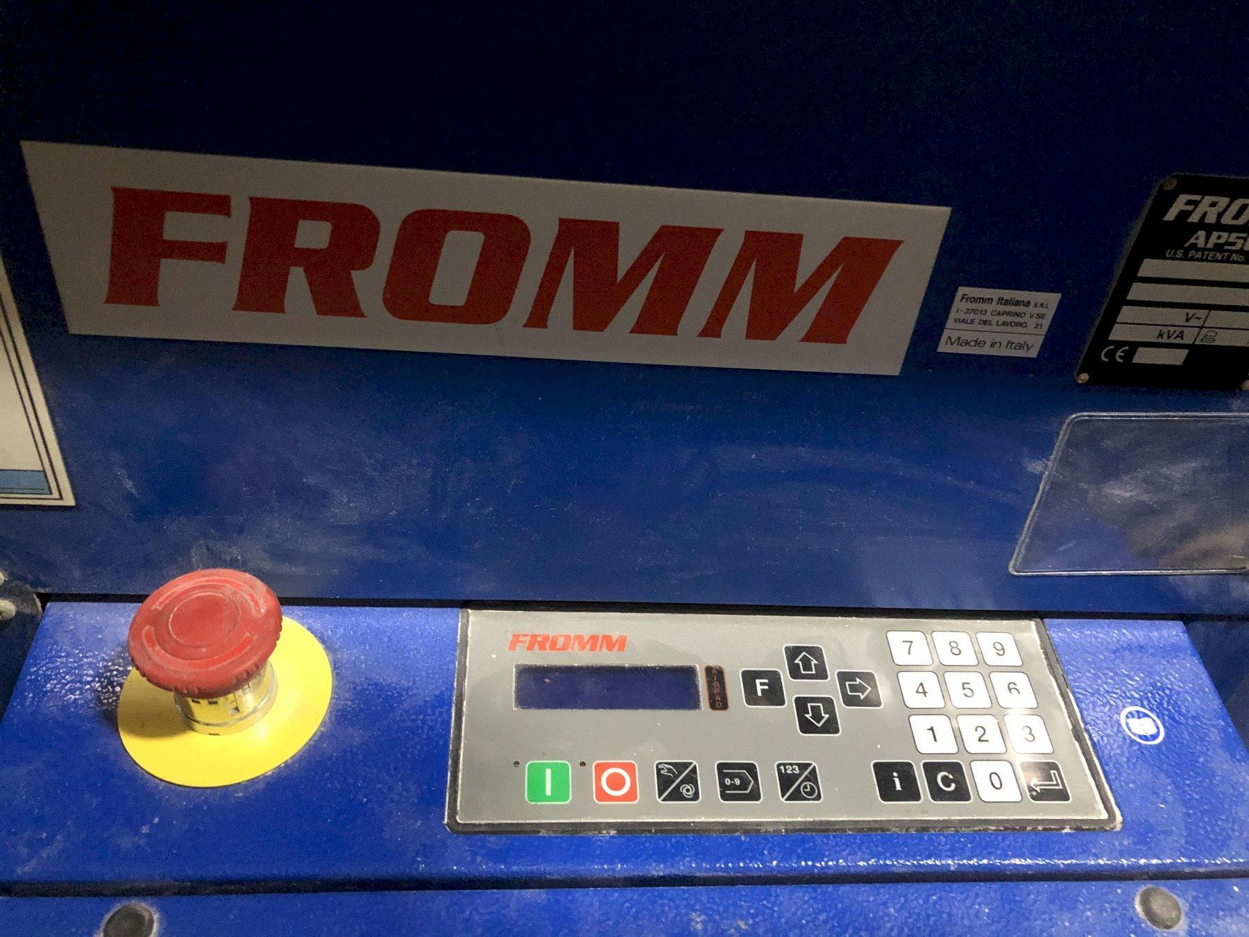 FROMM AP502 AIRPAD MACHINE