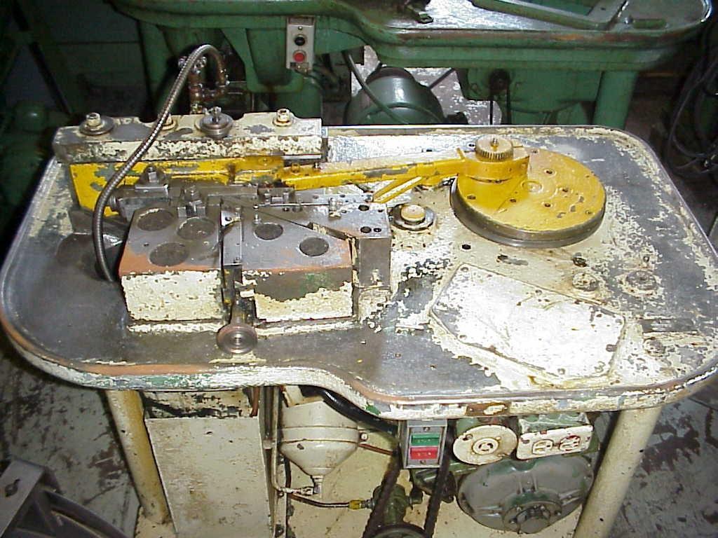 #0 Hartford 190 Automaed Flat Die Thread Roller