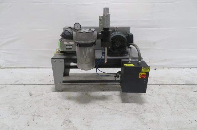Novatec Used VPDB-5 Vacuum Positive Displacement Pump, 5hp, 460V, Yr. 2016