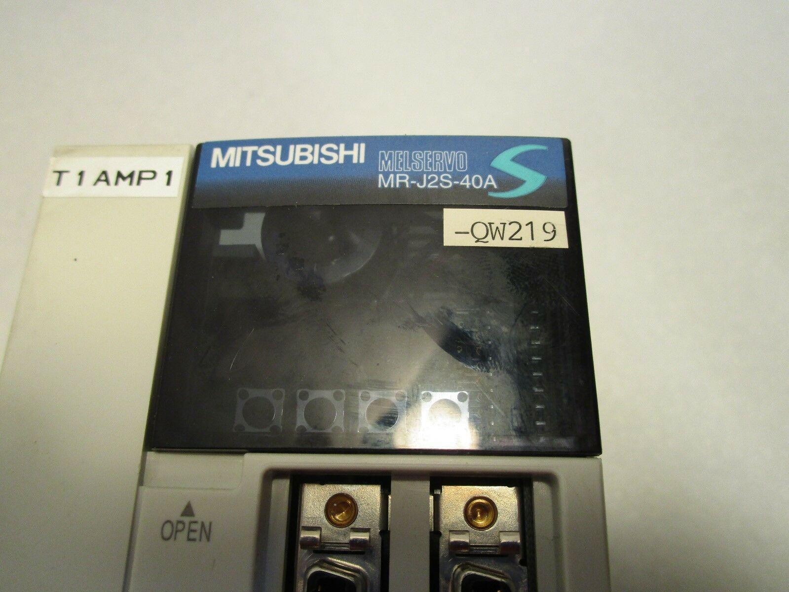 Mitsubishi 400W AC Servo Drive Motor Controller MR-J2S-40A