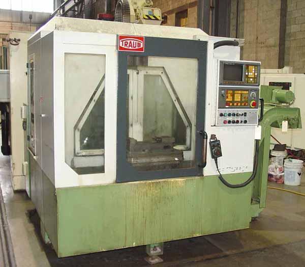 Traub TVC-200P 2-Pallet CNC Vertical Machining Center
