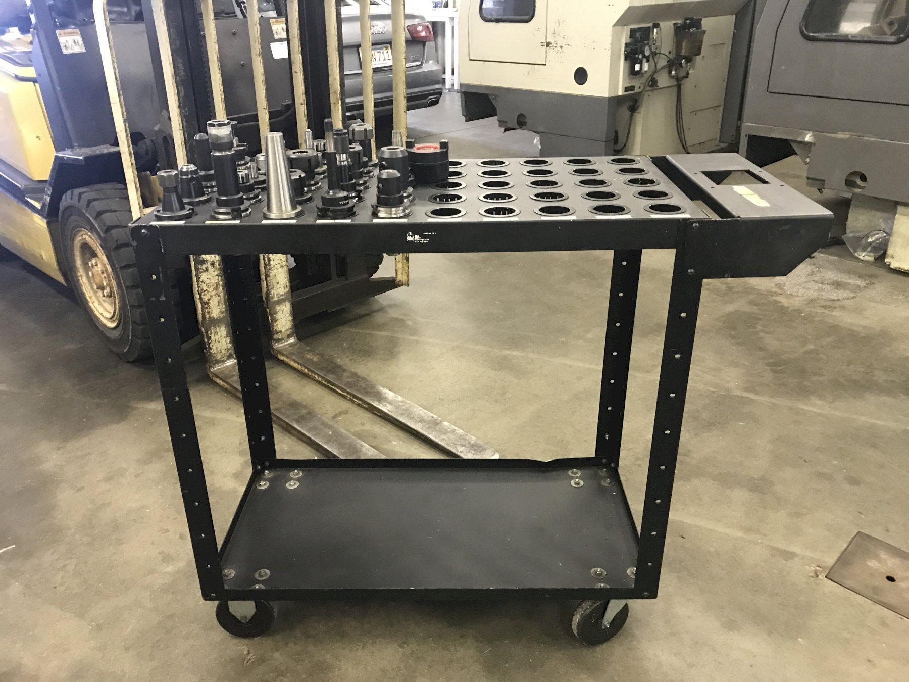 23 Piece CAT 40 Tooling Package w/ 50 Position Cart