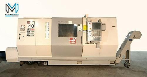 HAAS SL-40LM CNC TURN MILL CENTER