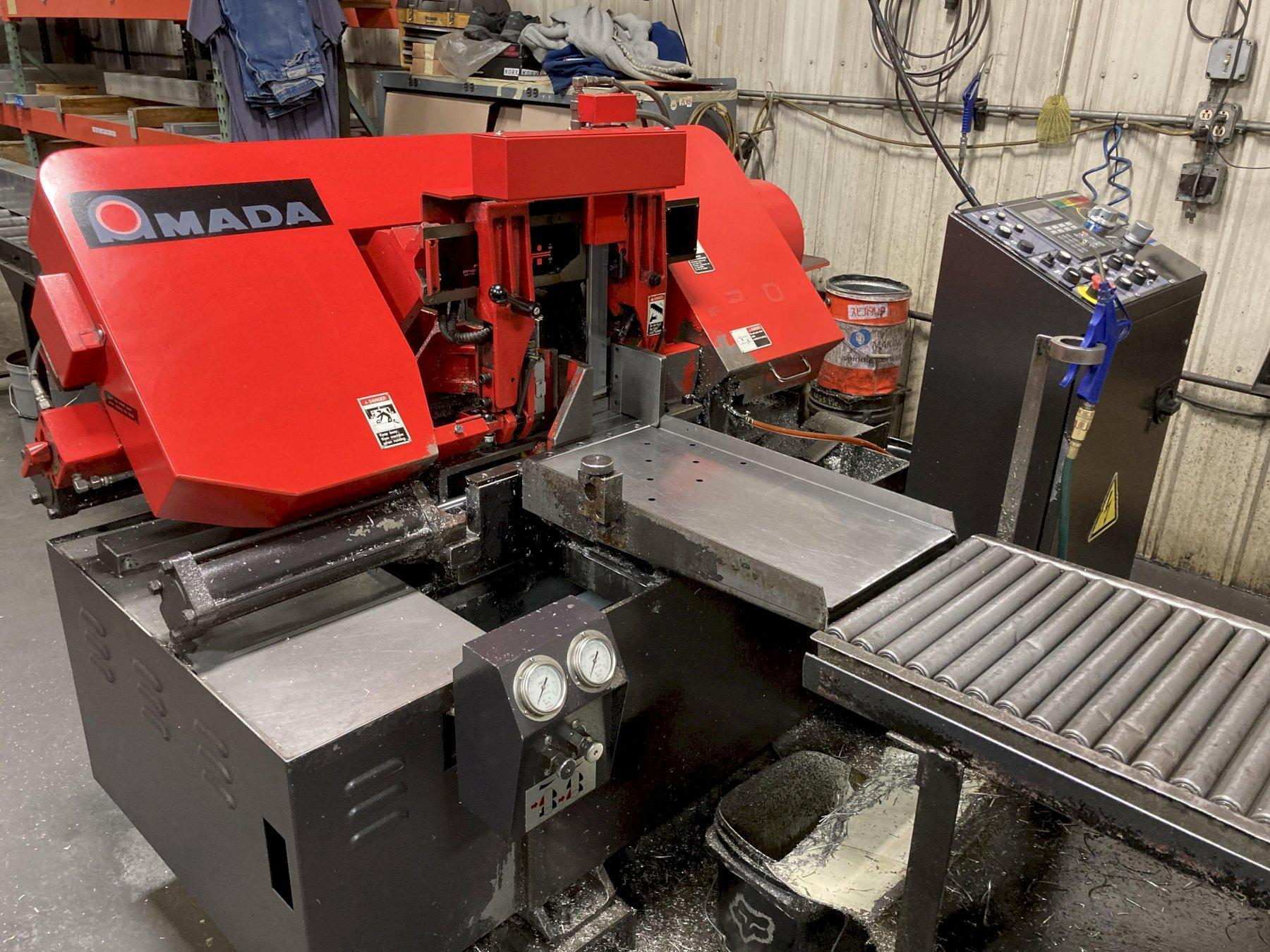 "10"" x 11"" Amada Model HFA250W Automatic Horizontal Band Saw"