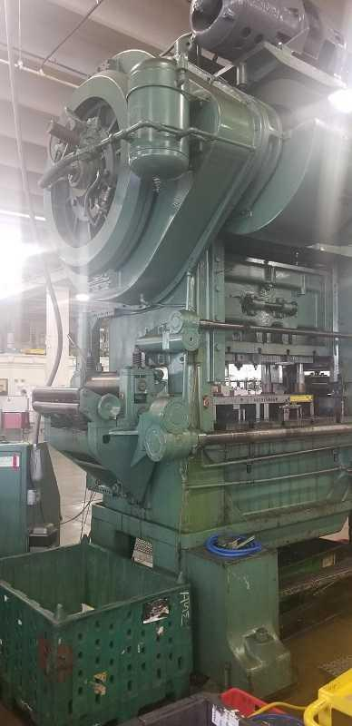 150 Ton Minster P2-150-54 Straight Side Press