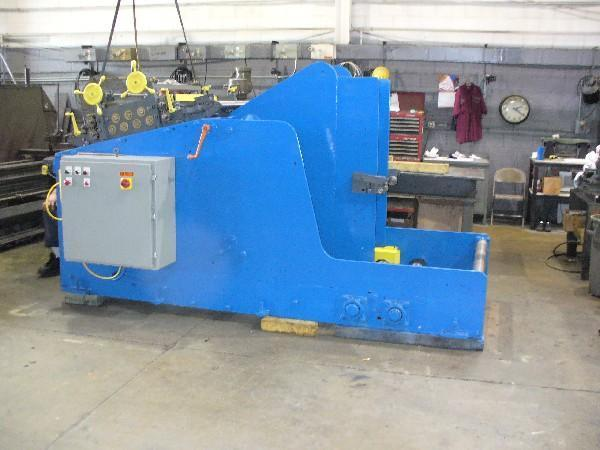 8,000 LB ROWE COIL CRADLE STRAIGHTENER COMBINATION UNCOILER: STOCK #13906