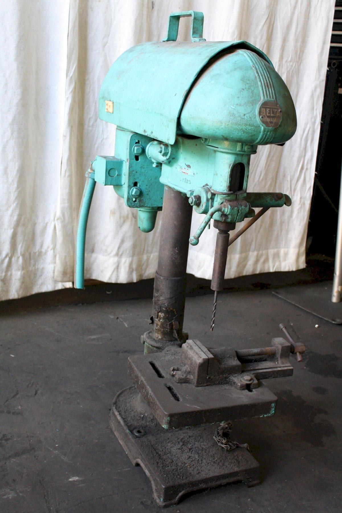 14' DELTA SINGLE SPINDLE DRILL: STOCK #65425