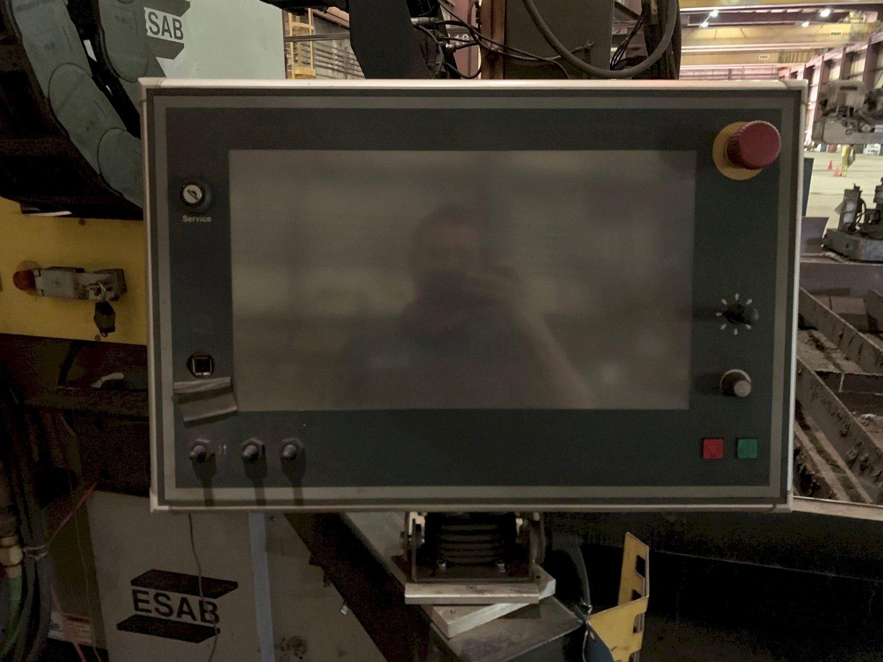 12' x 40' Esab Model Sabre DXG-4000 Plasma Table, NEW