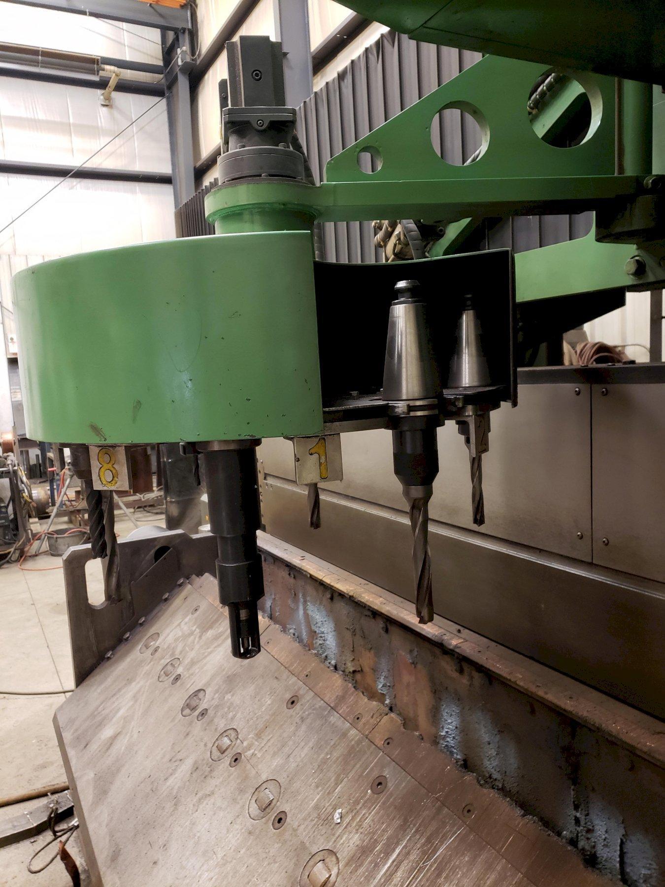 PEDDINGHAUS HSFDB 2500-B DRILL/PLASMA PLATE PROCESSING MACHINE. STOCK # 0104621