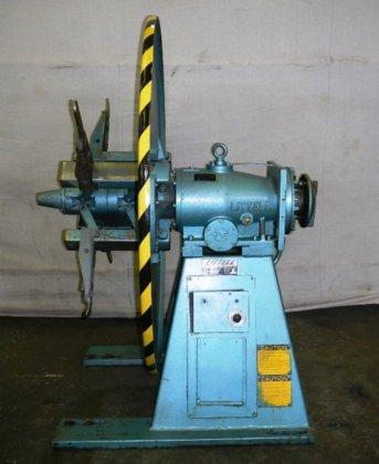"4,000# LITTELL #40-12, PLAIN, 60"" OD, 15"" - 20"" ID, FULL BACK PLATE, ELECTRIC BRAKE, (4) KEEPERS, 1984, 10348"