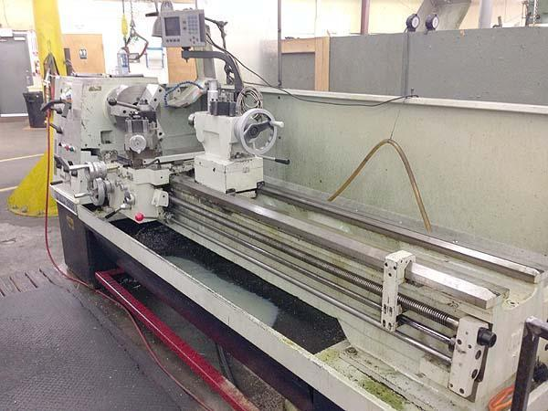 """22"""" x 80"""" WILLIS Engine Lathe, Model 2280, 22' Swing over Bed, 15-1/2"""" Over Cross Slide, 80"""" Centers, 3-1/8"""" Spindle Bore, Steady Rest, Threading, Clausing Colchester style lathe, New 2000."""