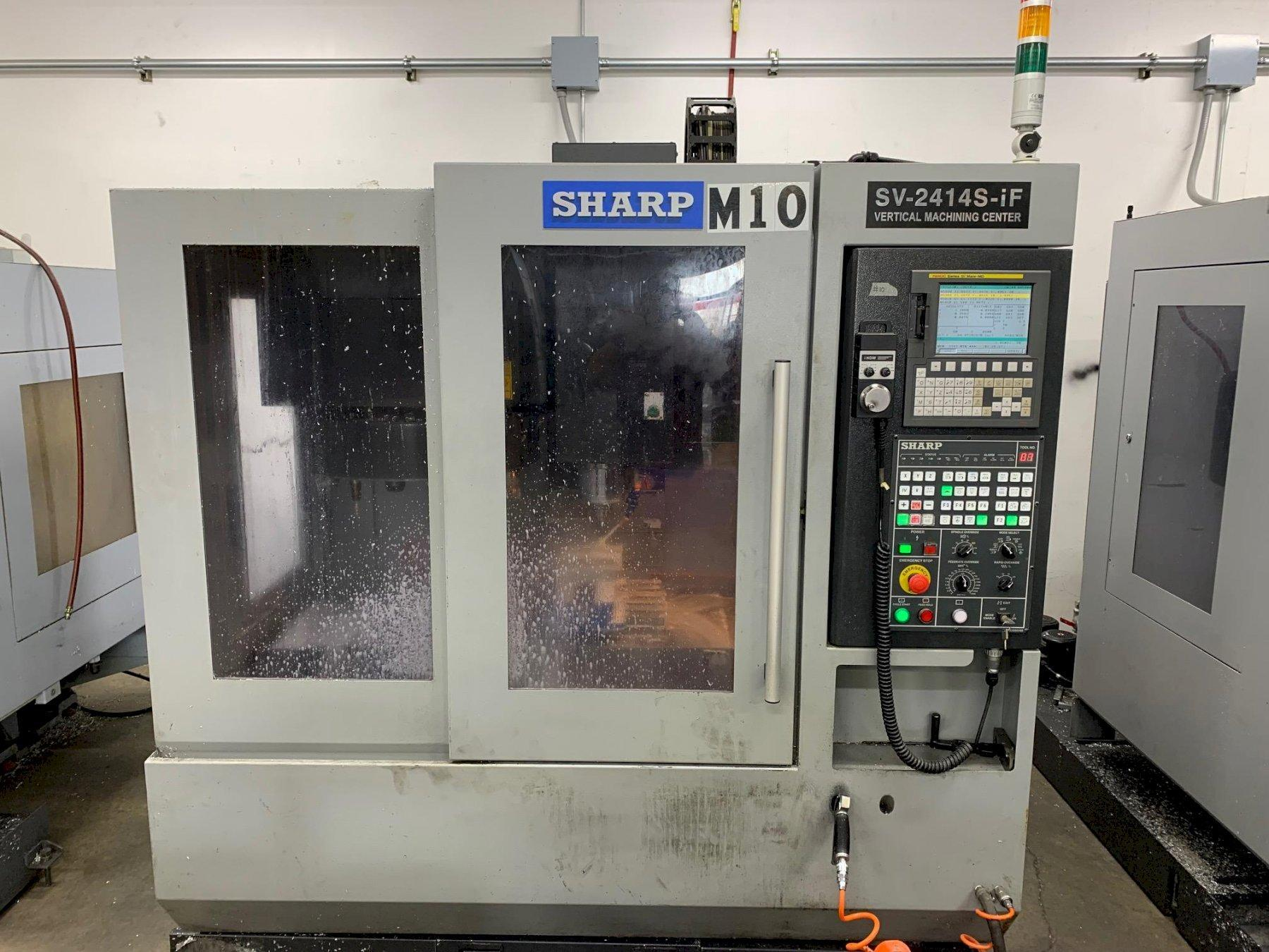 SHARP2016 Sharp SV-2414S-IF CNC Vertical Mill - 2 Available!