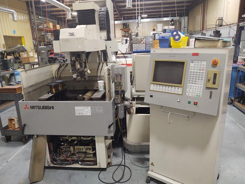 Mitsubishi Model CX20 CNC Wire EDM Machine, S/N 5042701.