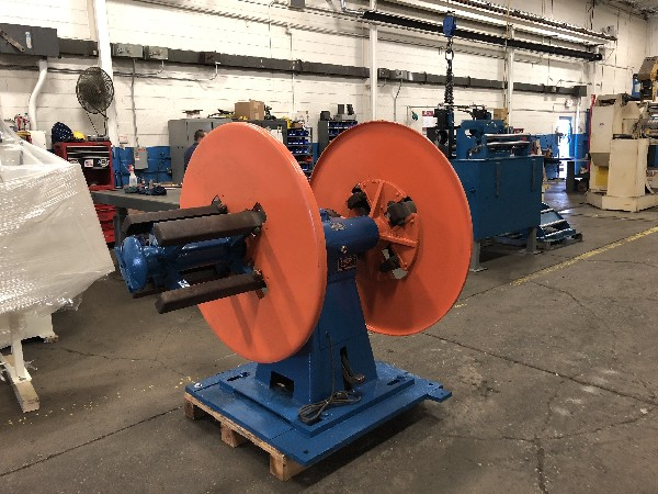 """LITTELL Double End (Pull Off) Coil Reel 2,500 Lbs.Capacity x 12"""" Wide"""