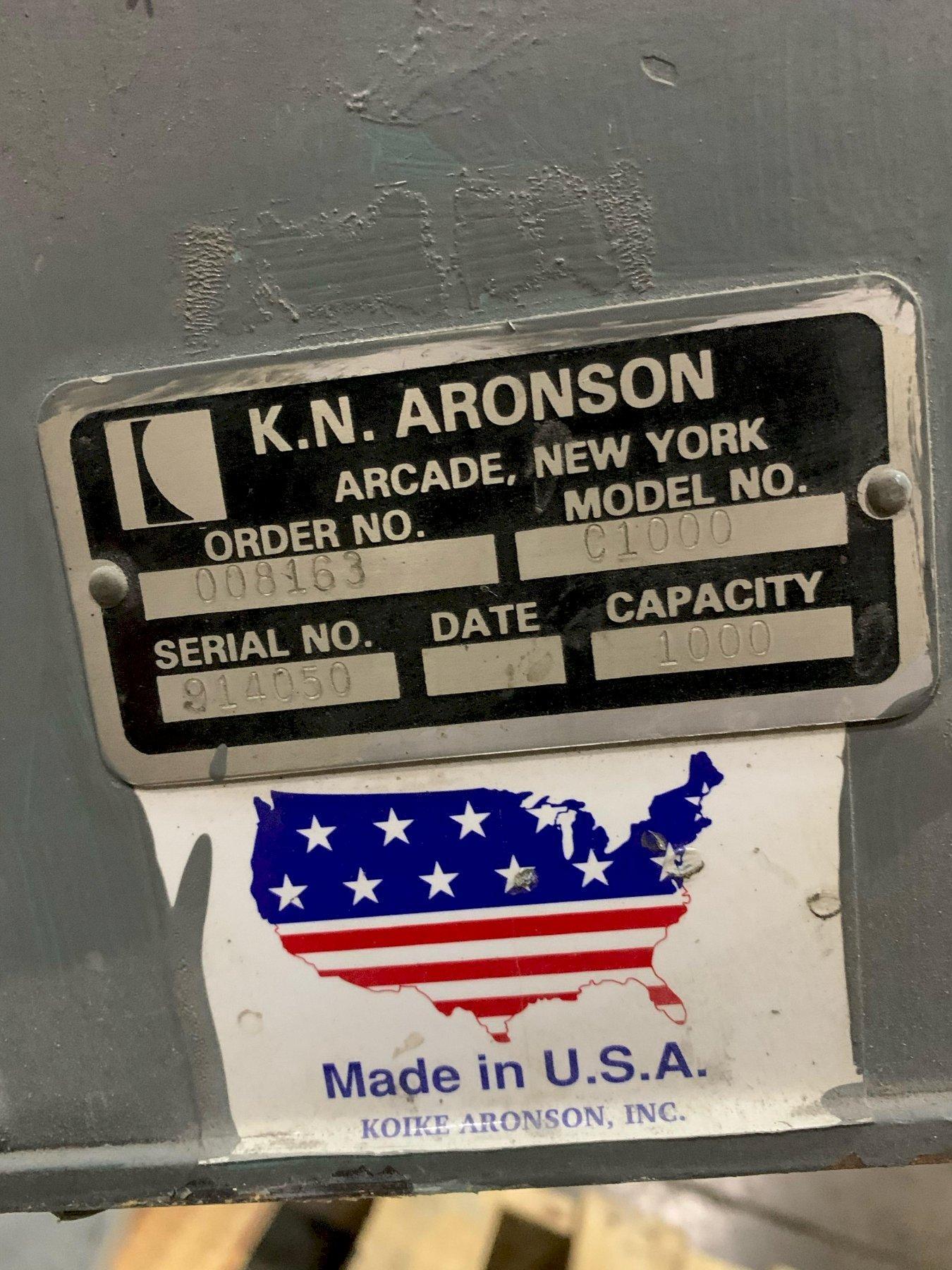 1000 LB. ARONSON C1000 AUTO BALANCE POSITIONER