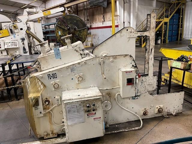 4,000 lbs. Rowe Cradle Straightener Model C4000J