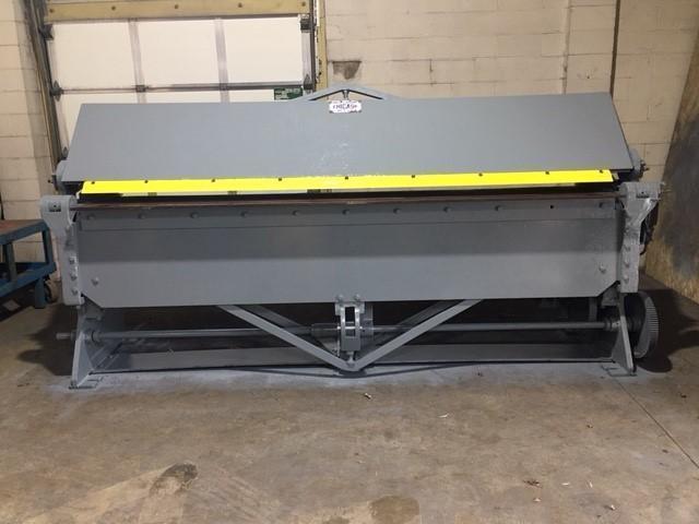 10' X 10 GAUGE DREIS & KRUMP CHICAGO D&K MODEL 204 POWERED APRON BRAKE
