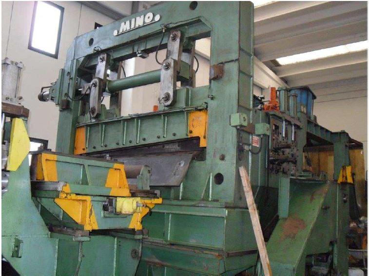 """78"""" (2000mm)  x .500"""" (12.7mm) x 64,000# MINO Slitting Line"""