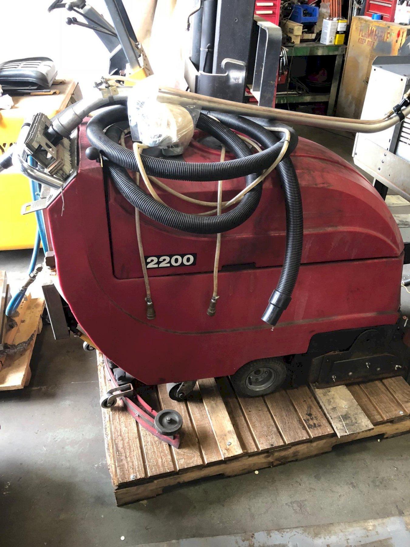 Cat Model 220  Walk Behind Floor Scrubber sweeper