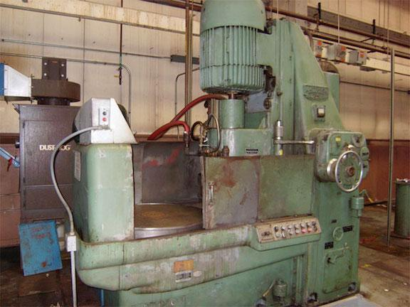 "36"" Mattison Rotary Surface Grinder
