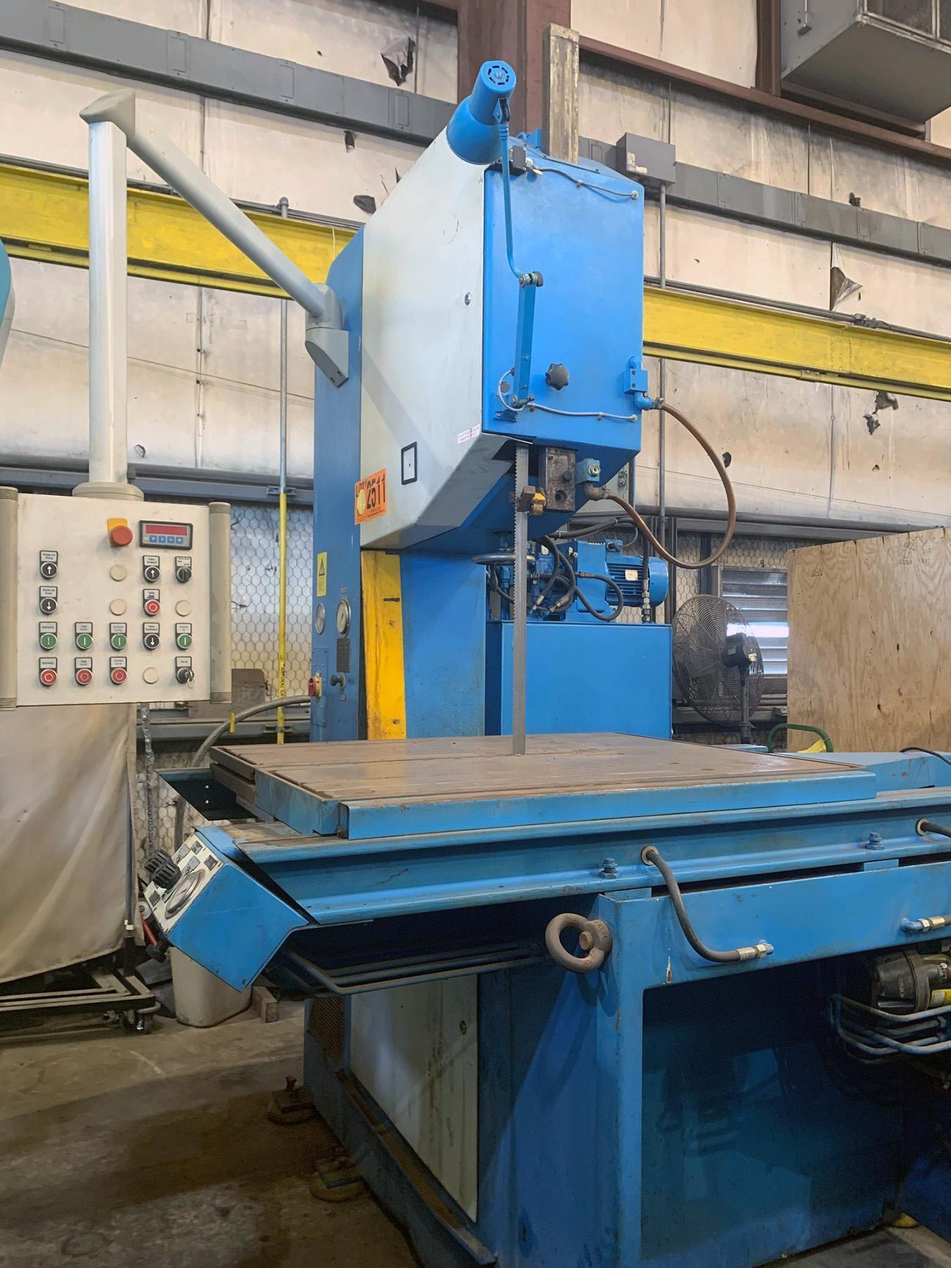 USED, JAESPA MODEL AS-8 VERTICAL BANDSAW