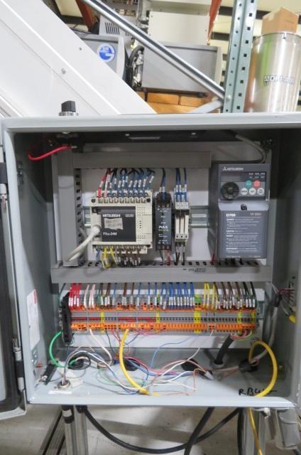 "HFA Used Horizontal to Incline Conveyor, 110V, 16"" wide"