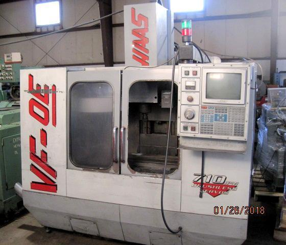 Haas VF-0E Vertical Machining Center
