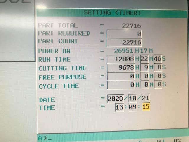 "DOOSAN PUMA 400LB CNC TURNING CENTER, Fanuc 0i-TD CNC, 30"" Swing, 18"" Kitagawa Chuck, 87"" Between Centers, 12 Position Tool Turret, Tool Setter, New 2012."