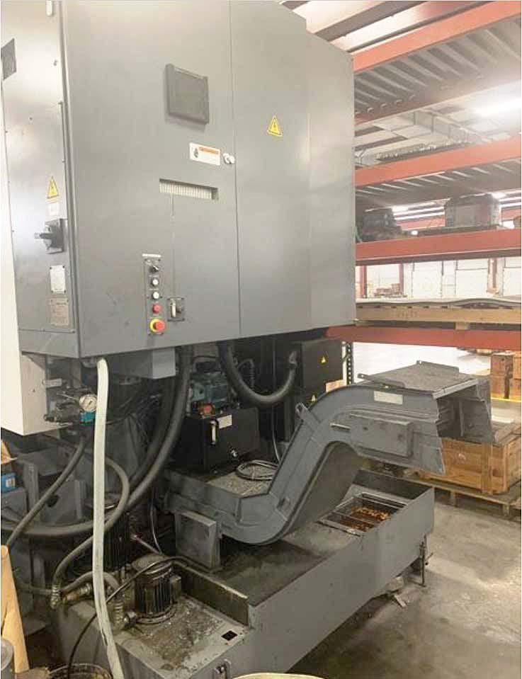"""OKUMA V60R VERTICAL TURNING CENTER with Live Tooling, OSP P200L CNC, 24"""" Max Turning Capacity, 25"""" Max Turning Length, 12 Position Turret, Live Tooling, New 2011."""