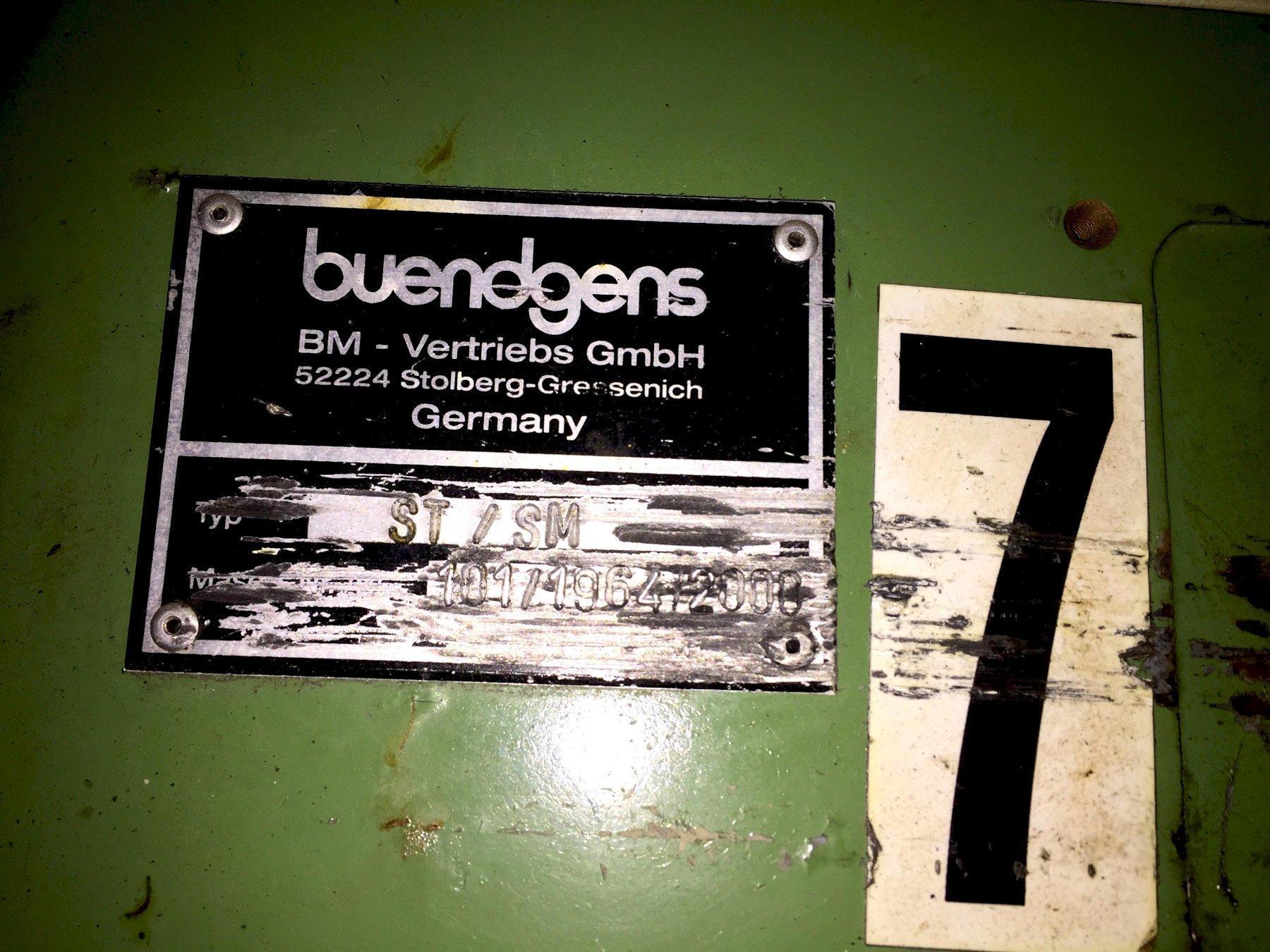 Buendgens ST/SM Pin Grinder