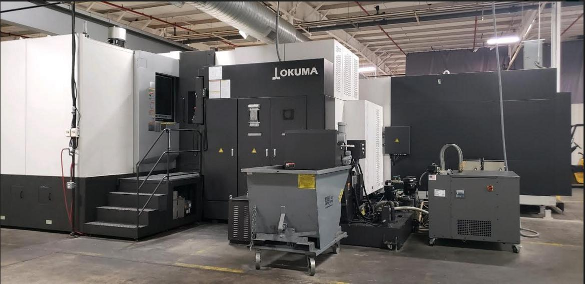 "Okuma MA-12500H Dual 40"" Pallet Horizontal Machining Center (New in 2016/Installed in 2019)"