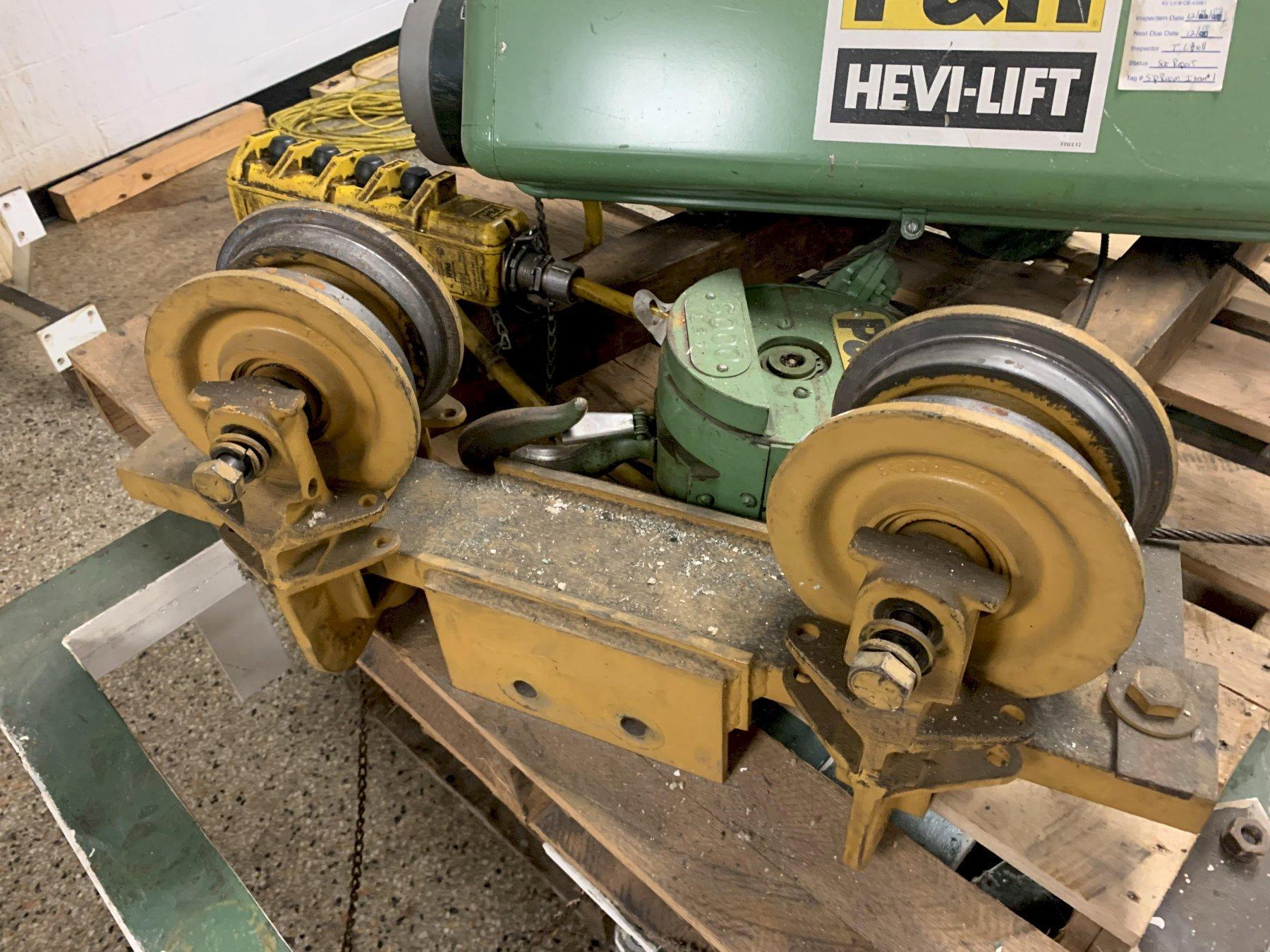 P&H Hevi-Lift 3 Ton Electric Hoist, Cat #5B332-1, S/N 613546,