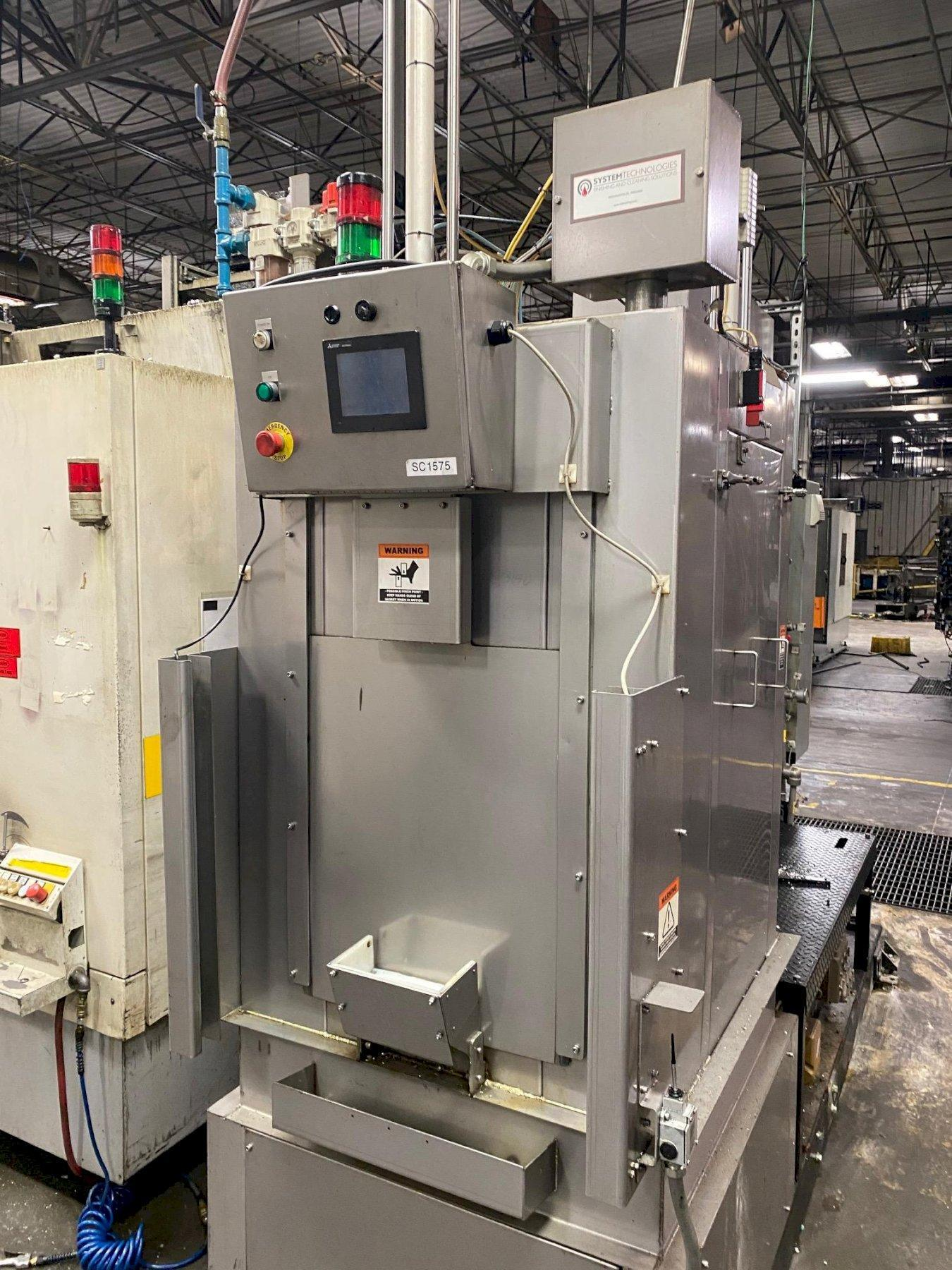 SYSTEM TECHNOLOGIES MODEL #CMI-123-480 CLEAN MACHINE HIGH PRESSURE STAINLESS STEEL PARTS WASHER: STOCK #15315